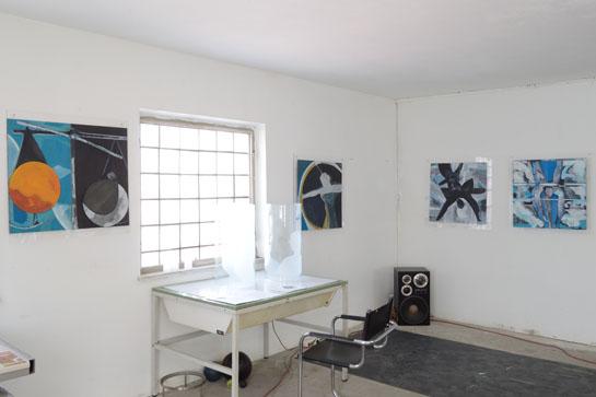Atelierausstellung: Dieter Loechle, Sternbilder
